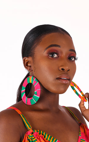 Kisi Hoop Earrings - House of Amara