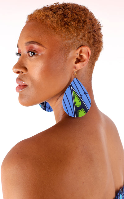 Leylah Teardrop Earrings - House of Amara