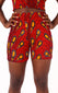 Leylah Red Shorts - House of Amara