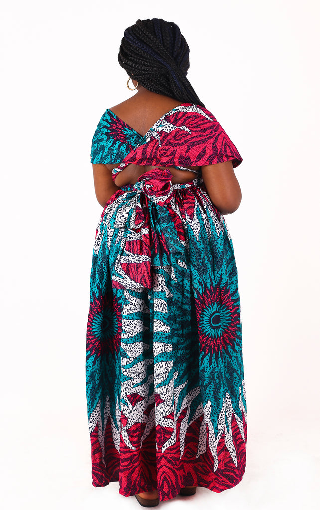 Vera Multiway Maxi Dress - House of Amara