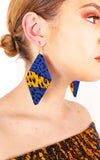 Zahra Diamond Shape Earrings - House of Amara