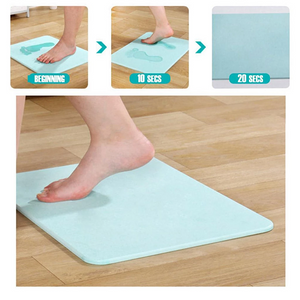 (HOT SALE)Fast Drying Anti Slip Earth Mat