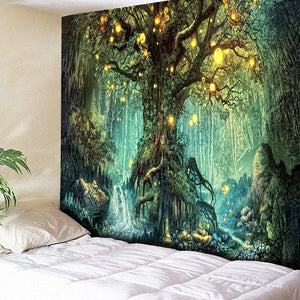 Enchanted Tree Tapestry