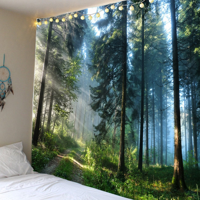 Sunlight Woods Tapestry