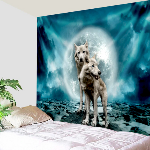 Wolves Of The Moon Tapestry