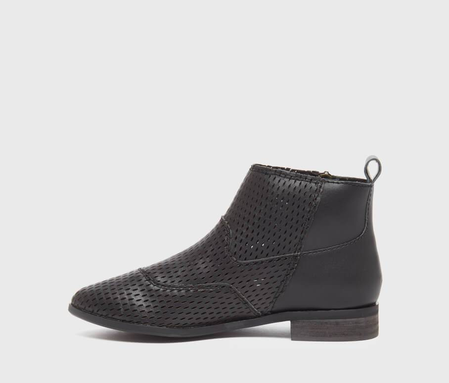 Kelsi Dagger BK® Alaska Black Perforated Bootie