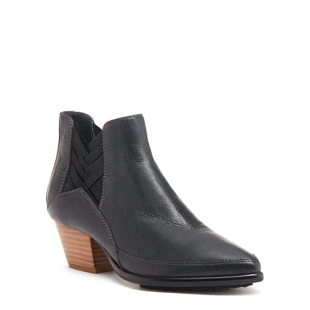 Kelsi Dagger BK® Elsewhere Black Leather Bootie