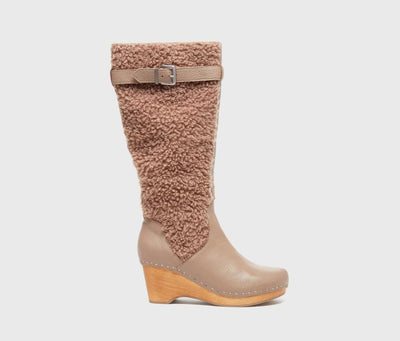 Jagger Taupe Shearling Boot