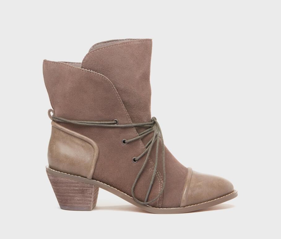 Kelsi Dagger BK® Kennedy Grey Lace-Up Bootie