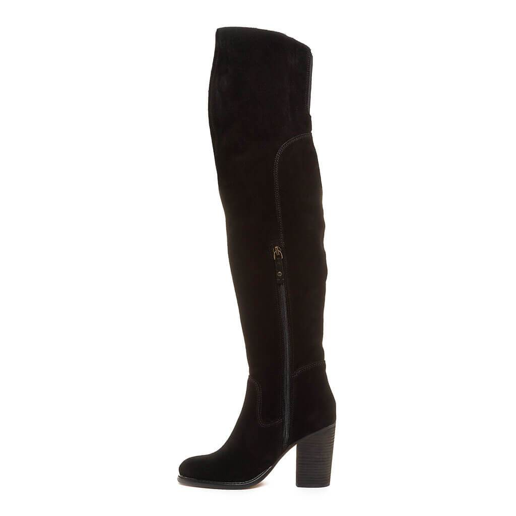 Kelsi Dagger BK® Logan Black Over The Knee Boot