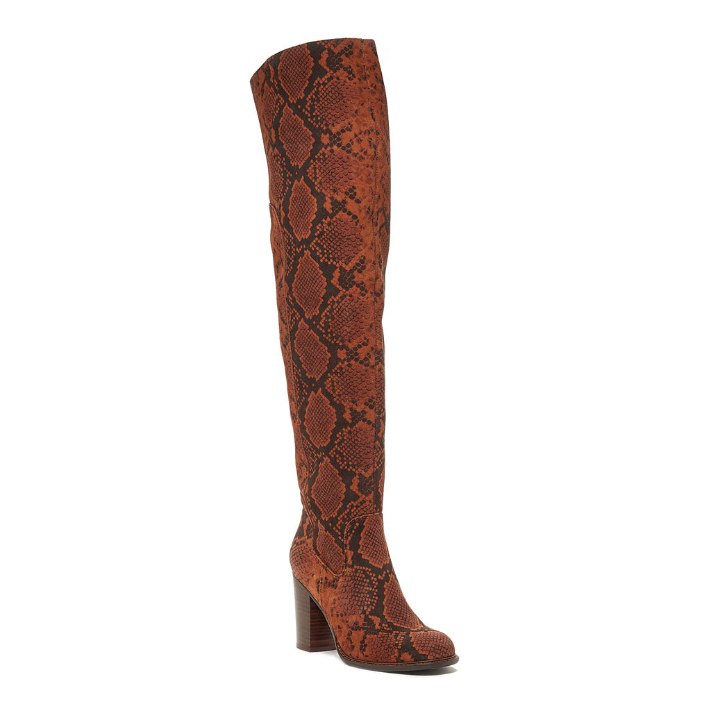 Logan Espresso Over The Knee Boot