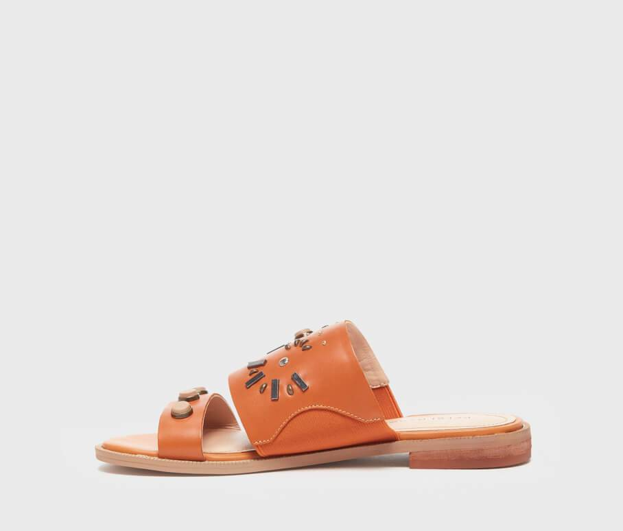 Kelsi Dagger BK® Raven Tan Leather Sandal
