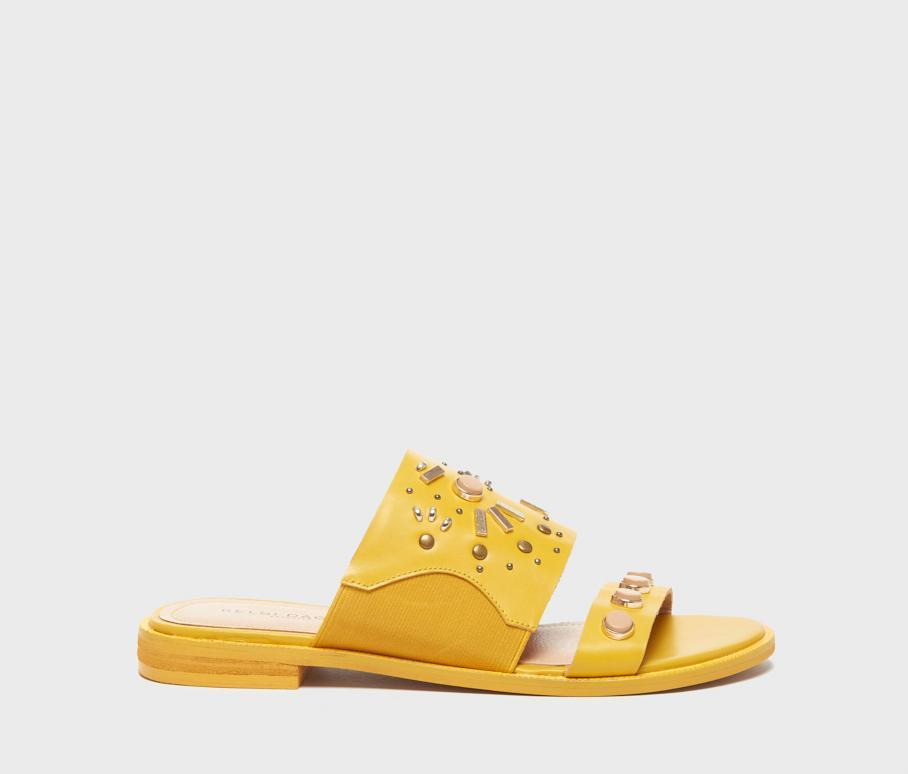 Kelsi Dagger BK® Raven Yellow Leather Sandal