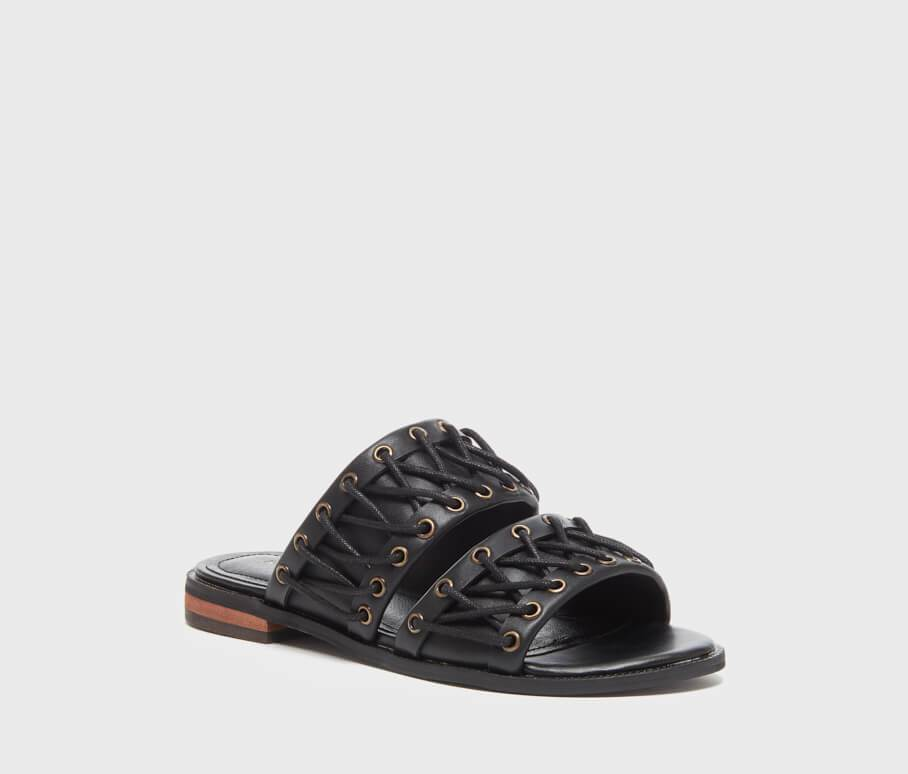 Rio Black Laced Women's Sandal