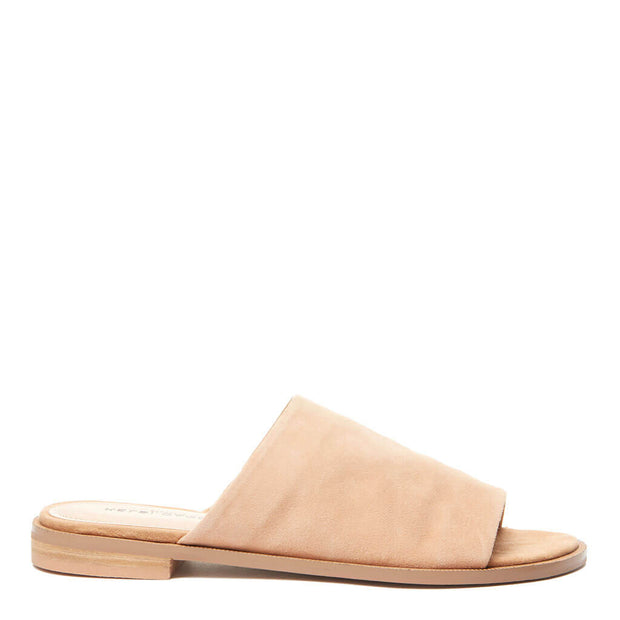 Ruthie Women's Tan Suede Slide