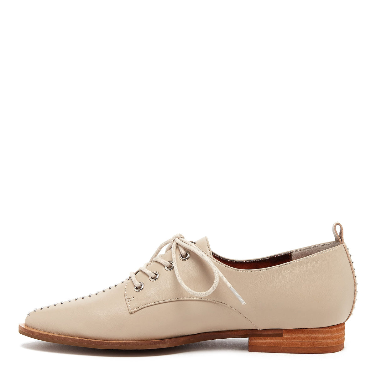 Kelsi Dagger Savas Whitewash Leather Oxford