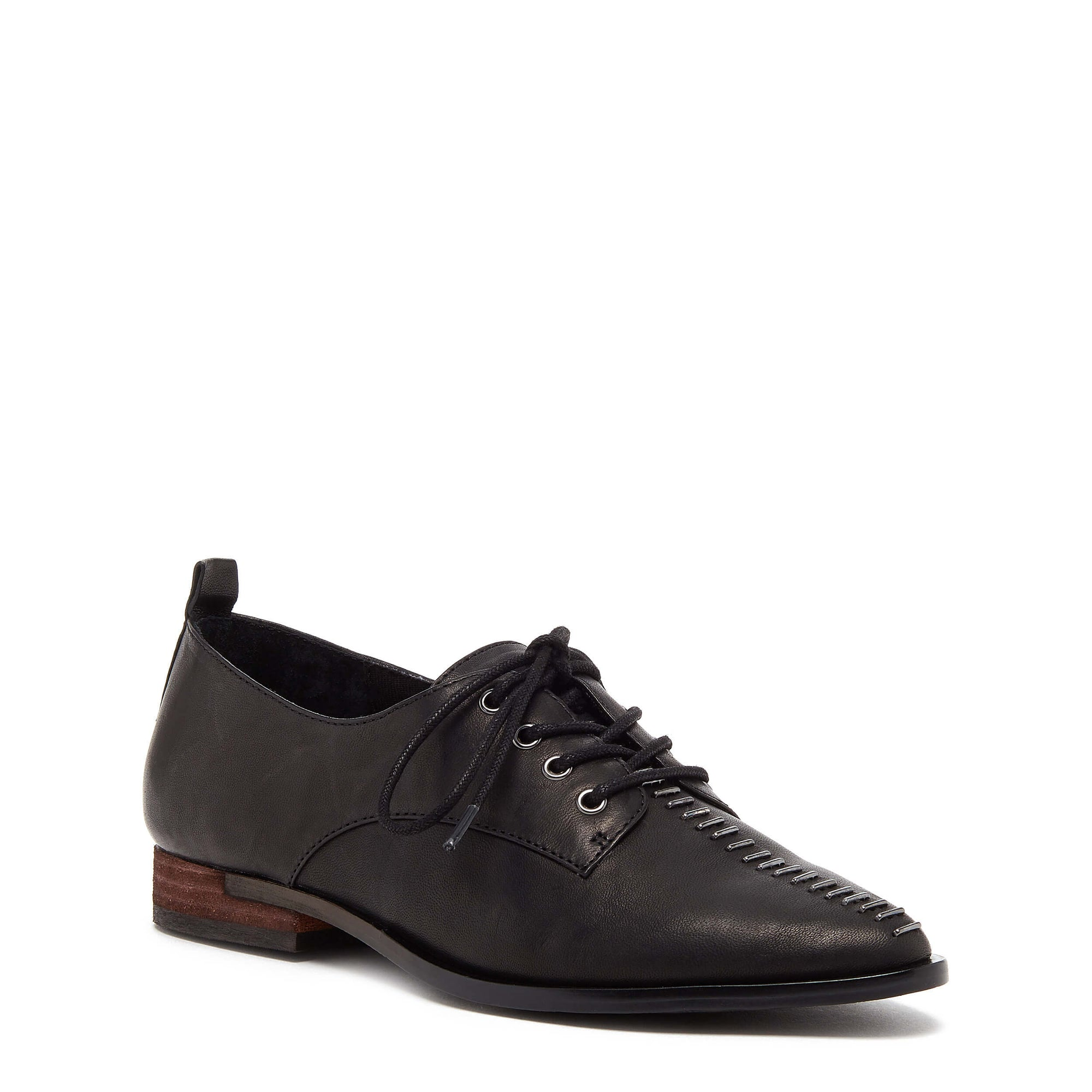 Kelsi Dagger Savas Black Leather Oxford