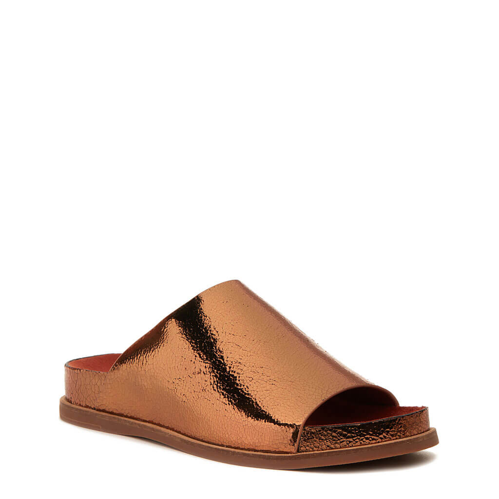 Squish Rust Slide Sandal