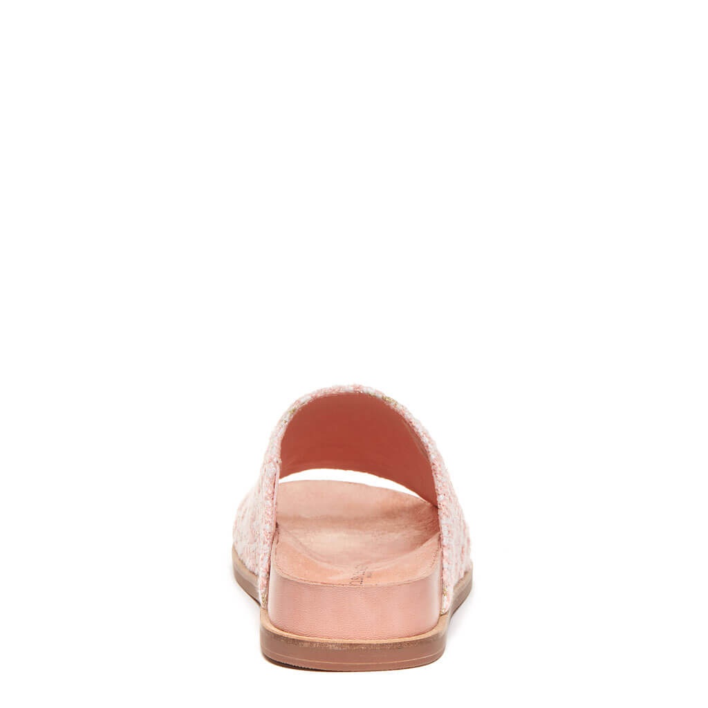 Squish Peach Slide Sandal