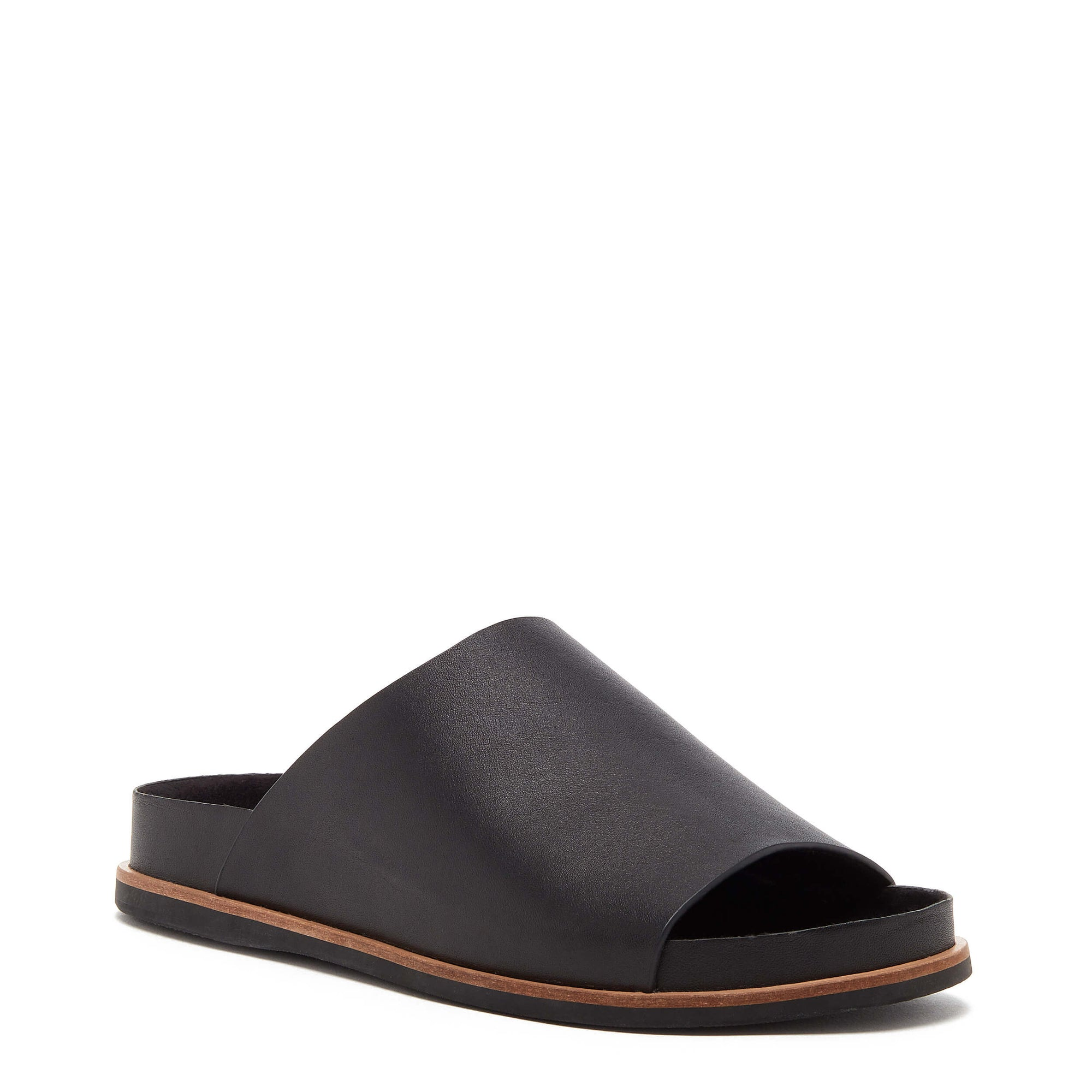 Kelsi Dagger BK® Squish Black Soft Footbed Sandal