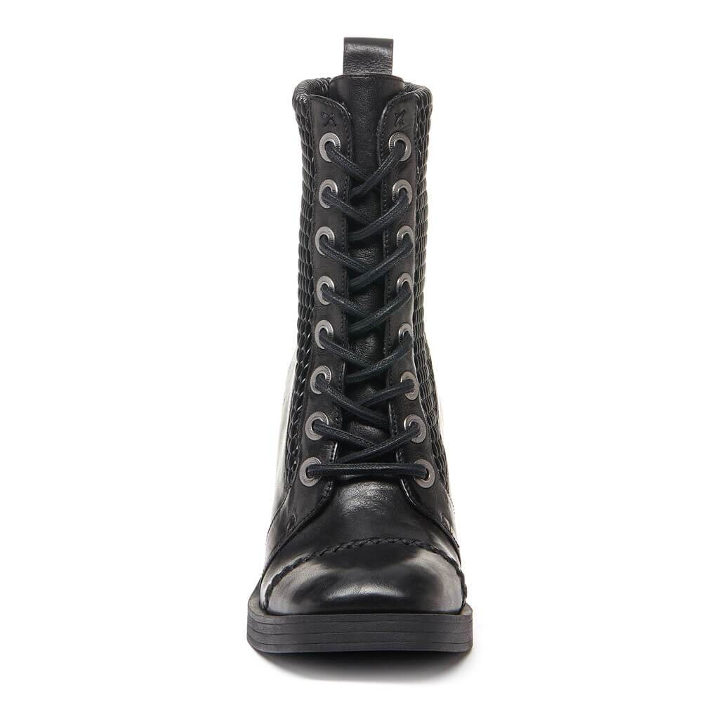 Kelsi Dagger BK® Weaver Black Leather Bootie