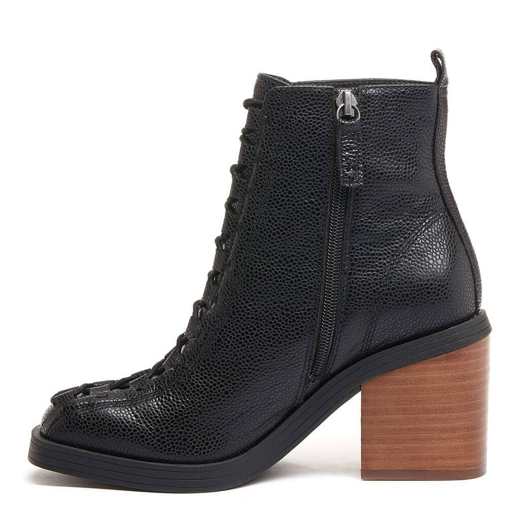 Kelsi Dagger BK® Westlight Black Leather Bootie