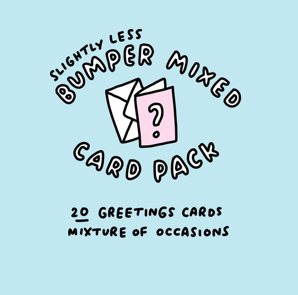 Slightly Less Bumper Mixed Card Pack - 20 Cards