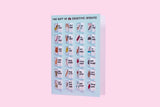 The Gift of 24 Creative Insults Lovely Flaps Funny Greetings Card