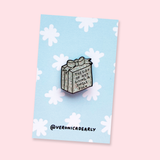 The Gift of Not Giving A Single F*** Enamel Pin Badge