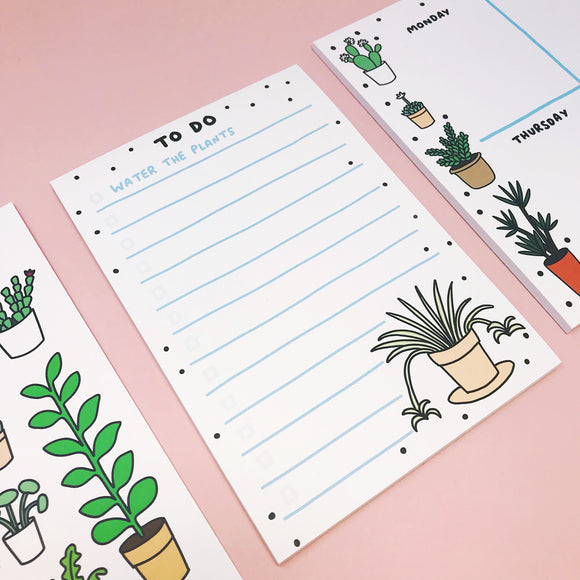 Plant Pals Desk Pad and To Do List Set