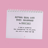 Actual Real Life by Veronica Dearly 2021 A4 Wall Calendar