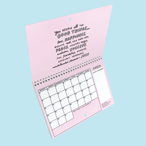 Gentle Encouragement 2021 A4 Wall Calendar by Veronica Dearly