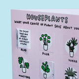 What Your Choice of Houseplant Says About You Funny Lovely Flaps Greetings Card