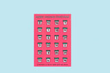 PRE-ORDER Merry F****** Christmas Advent Calendar of Festive Swear Words & Insults Funny Flaps Card