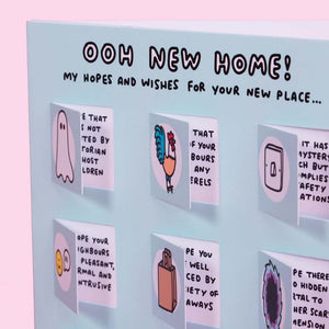Ooh New Home Funny Lovely Flaps Card