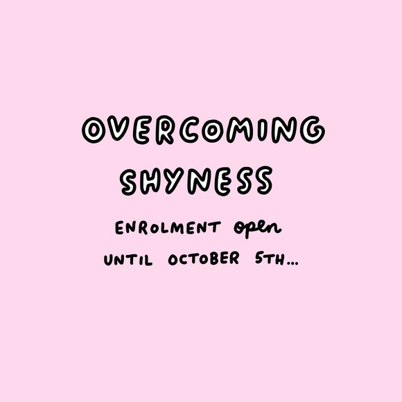 Overcoming Shyness 6 Week Course