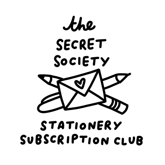 The Secret Society Stationery Subscription Club