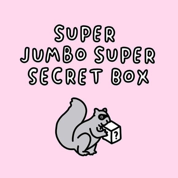 Super Jumbo Super Secret Box Worth Over £100