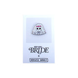 Rock n Roll Bride Full Set of 4 Enamel Pins