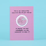 Dick-Pick-Me-Up Keepsake Magnet Card Sent Straight To Your Chosen One
