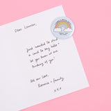 A Rainbow To Brighten Your Day Magnet Keepsake Card Sent Straight To Your Chosen One