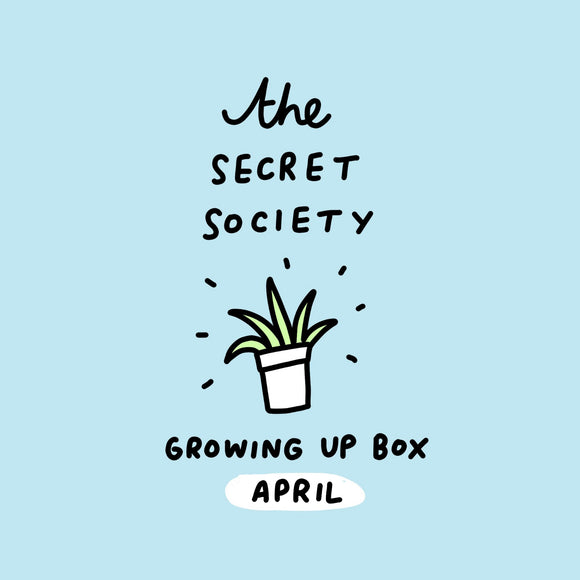 April Box Only - THE SECRET SOCIETY STATIONERY SUBSCRIPTION CLUB