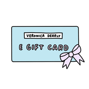 Instant Veronica Dearly Shop Gift Voucher