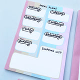 Housework, Work, Work Stationery Set