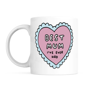 Best Mum I've Ever Had Mug