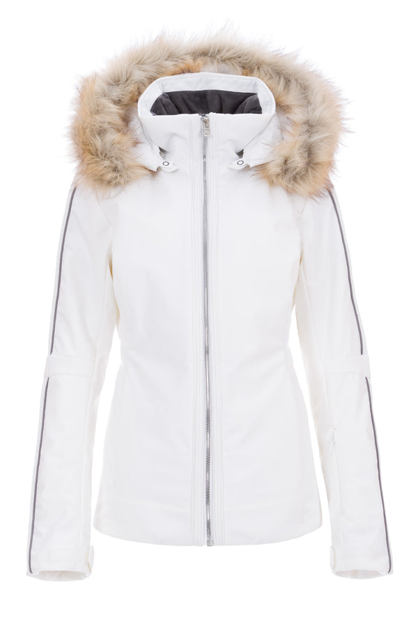 Eva Stretch Faux Fur Parka