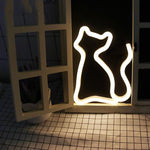 Cat Shaped Decorative Night Light