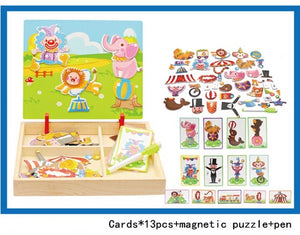 Magnetic Imagination Puzzle
