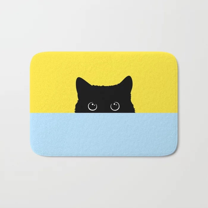 Kitty Bath Mat