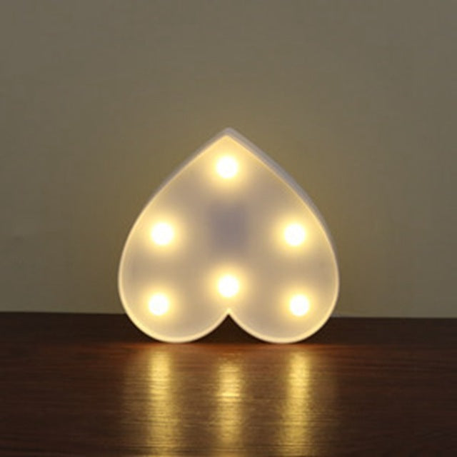 Multiple Shape Led Decorative Lights